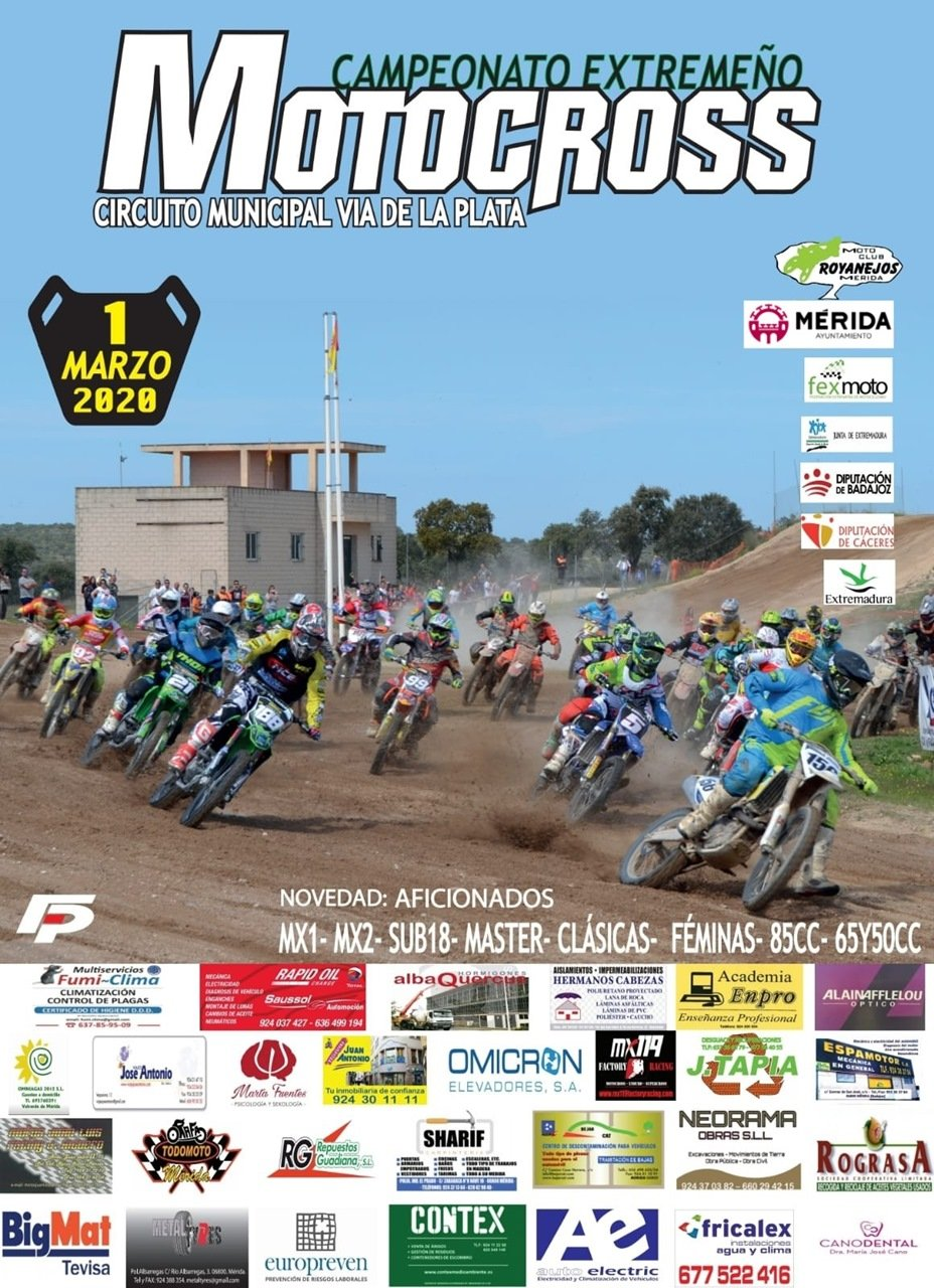 Campeonato extremeño de Motocross