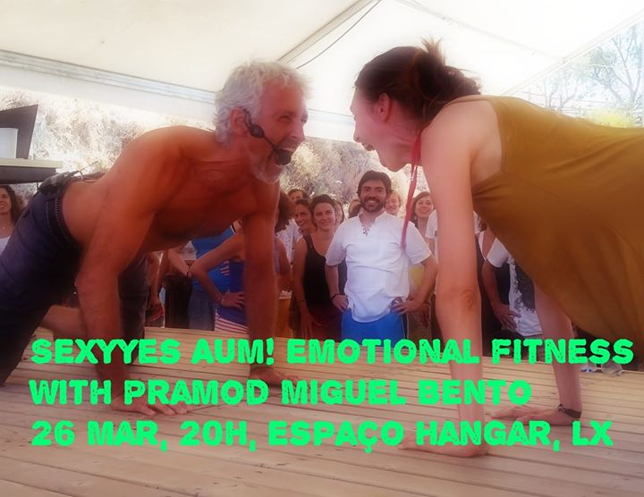SEXYYes AUM! Social active meditation with Pramod