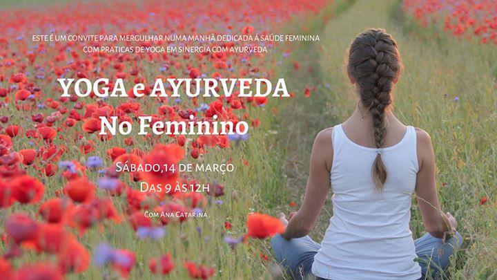 Sessões de Yoga - Yoga e Ayurveda no Feminino