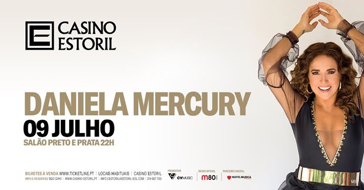 Daniela Mercury - Casino Estoril