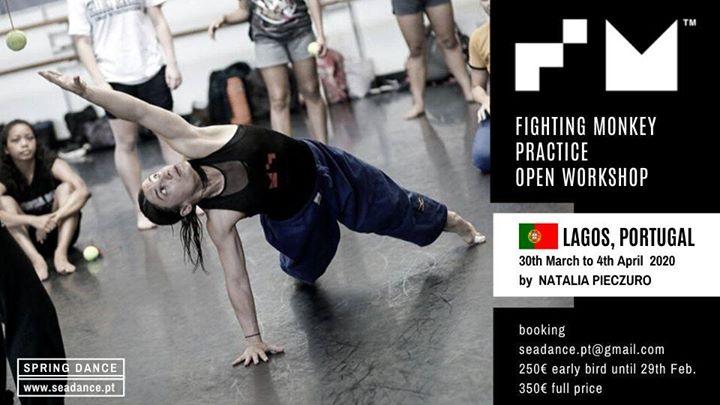 Fighting Monkey: Open Workshop by Natalia Pieczuro