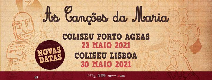 Nova Data: As Canções da Maria // Coliseu Porto AGEAS