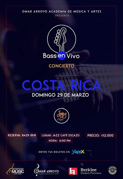 Oscar Stagnaro en Jazz Café Escazú