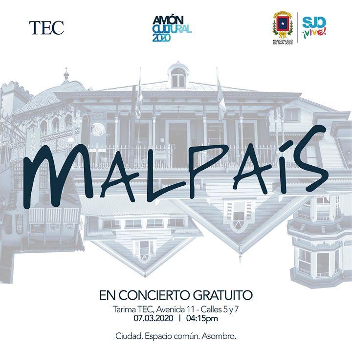 Concierto Malpais en Amón Cultural 2020