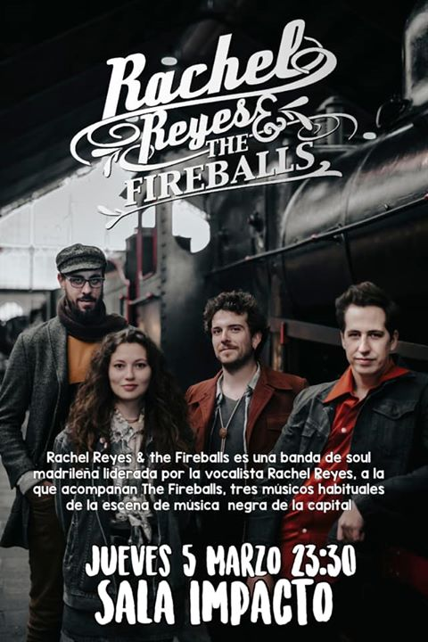 RACHEL REYES AND THE FIREBALL