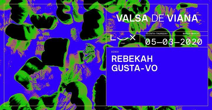 Valsa De Viana: Rebekah x Gusta-vo