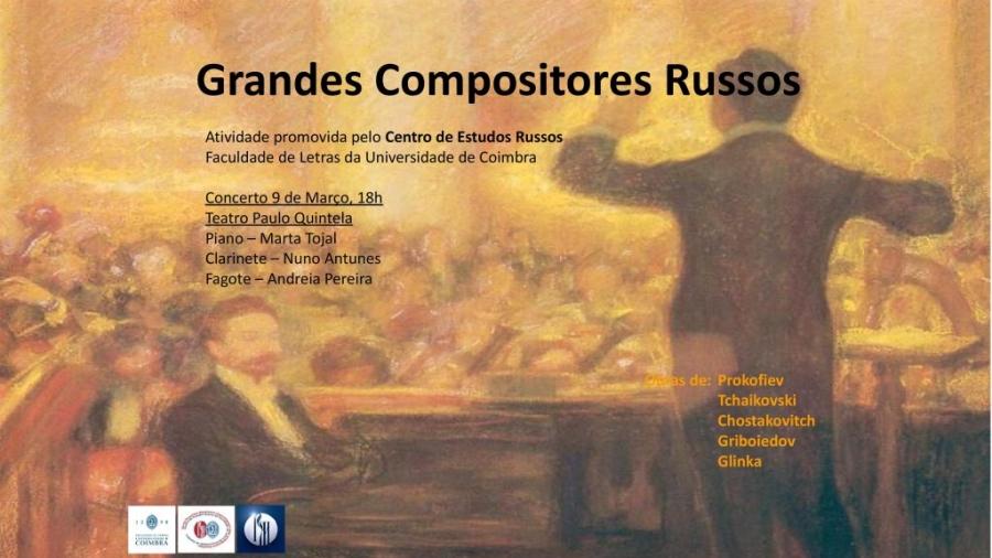 """Concerto """"Grandes Compositores Russos"""""""