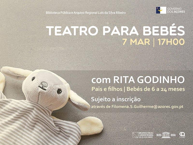 Teatro para bebés com Rita Godinho