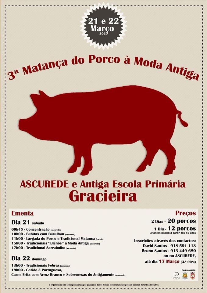 3ª Matança do Porco à Moda Antiga | Gracieira