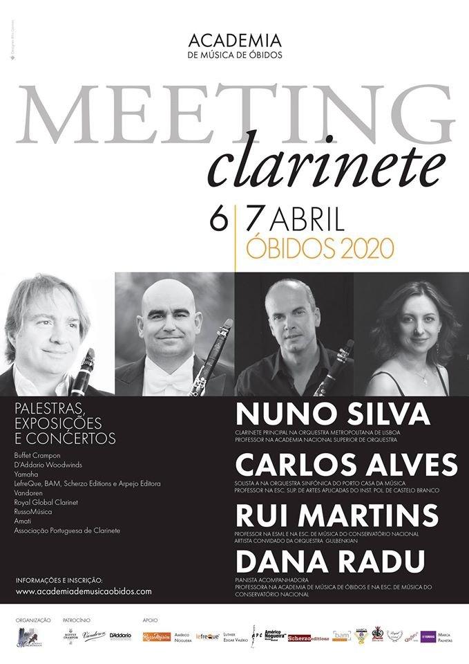 Meeting Clarinete | Academia de Música de Óbidos