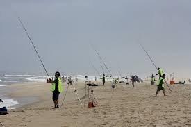 Pesca Desportiva na modalidade de Surfcasting