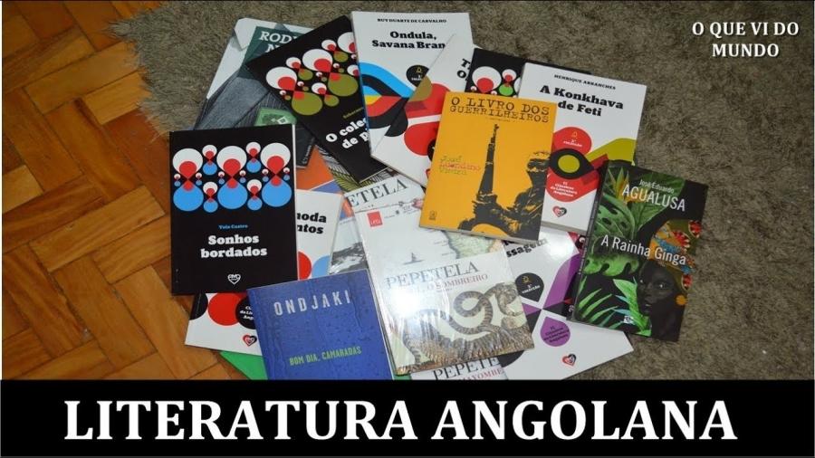 Clube de leitura  Em torno da literatura angolana