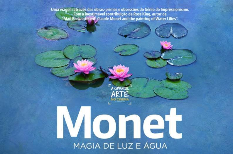 "A Grande Arte no Cinema: ""Monet – Magia de luz e água"""