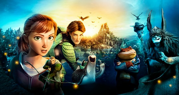 """Cinema de Animação: """"Epic, o Reino Secreto"""""""