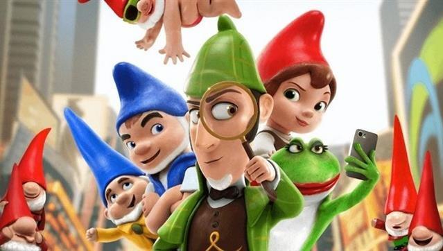 """Cinema de Animação: """"Sherlock Gnomes"""""""