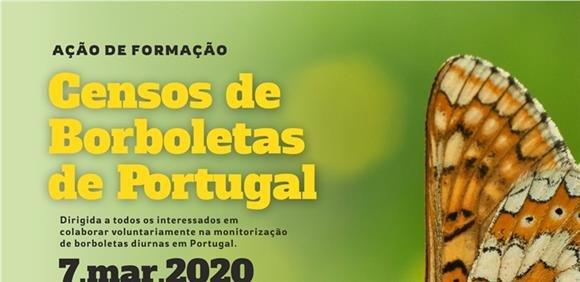 Censo de borboletas diurnas em Portugal