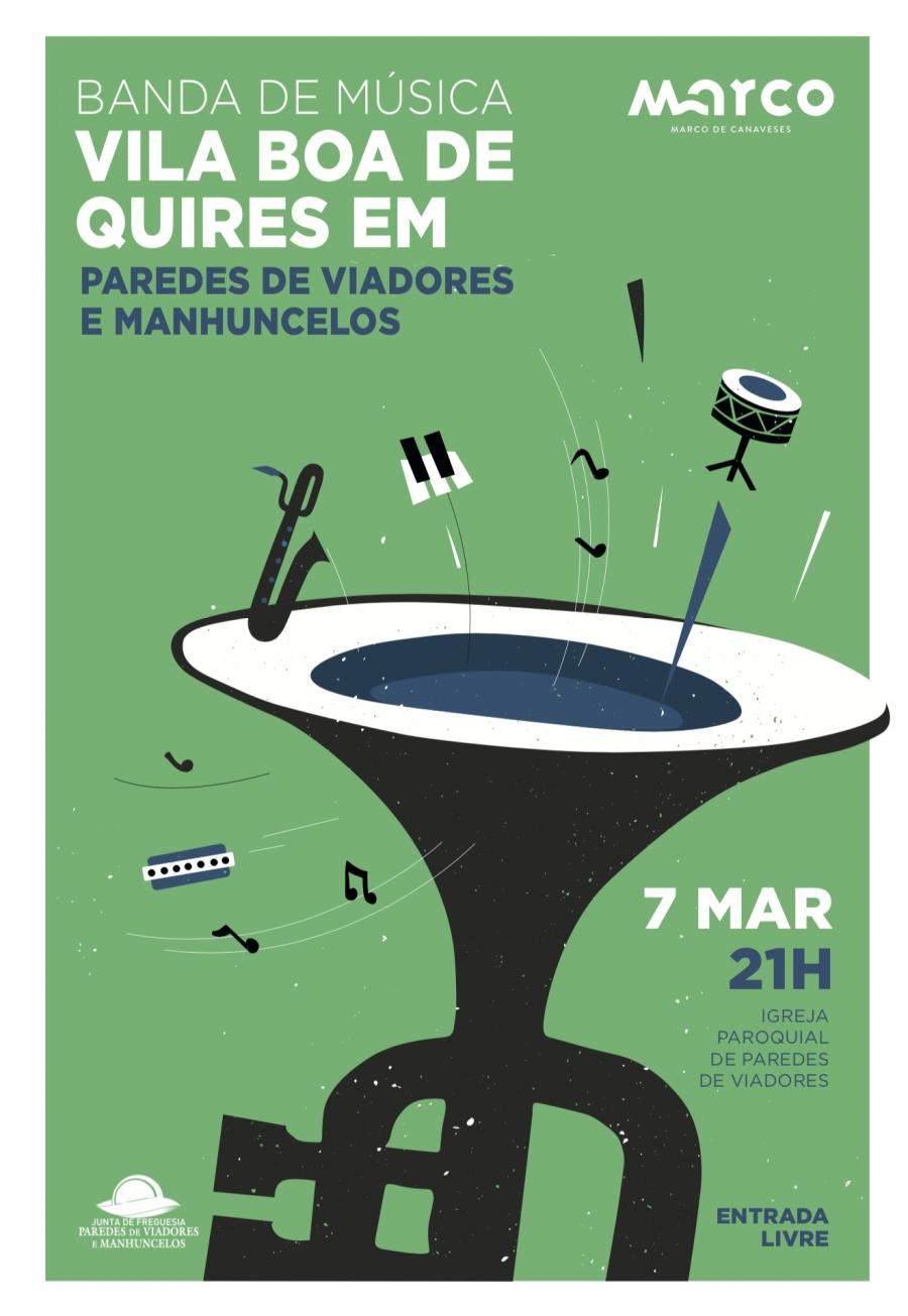 Concerto da Banda de Musica de Vila Boa Quires