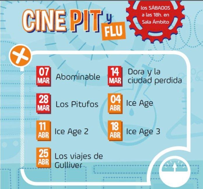 Cine Pit y Flu: 'Ice age 3'