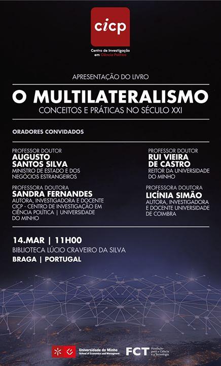 Apresentação do Livro 'O Multilateralismo'