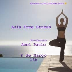 Aula Aberta Free Stress Yoga