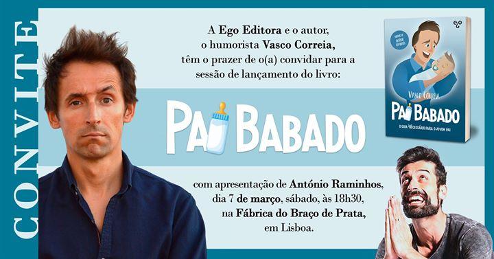 Vasco Correia | Lançamento do livro Pai Babado