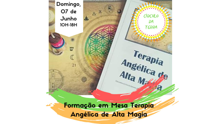 Mesa de Terapia Angélica de Alta Magia