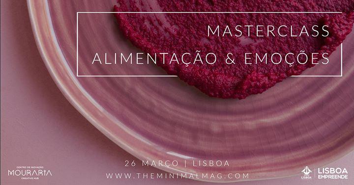 Masterclass Alimentação & Emoções
