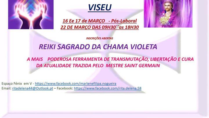 Reiki Sagrado Da Chama Violeta