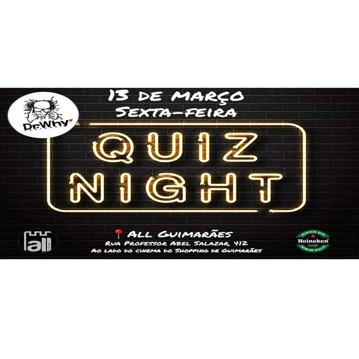 Quiz Night - Dr. Why