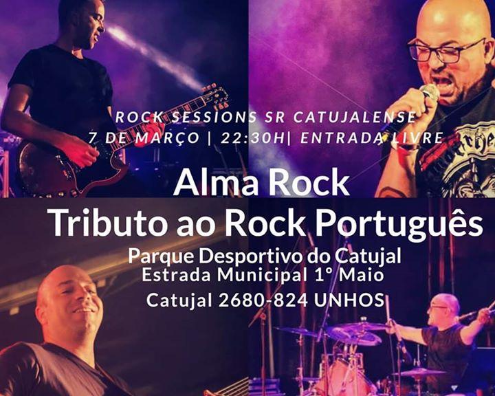 Alma Rock no SR Catujalense