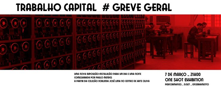 Trabalho Capital # Greve Geral