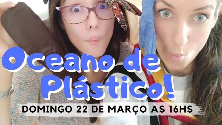 Oceano de Plástico! Vamos reciclar? Teatro sensorial