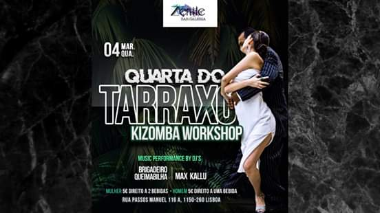 Kizomba Workshop - Quarta do Tarraxo