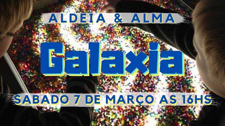 Viagem sensorial 'Galaxia'