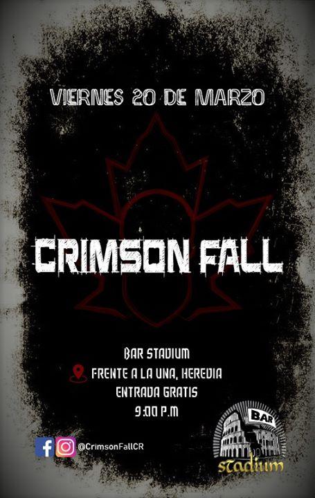Crimson Fall en Bar Stadium