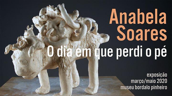 Inauguração // 'O dia em que perdi o pé', de Anabela Soares