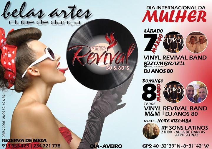 Dia da Mulher com Festa Revival 50|60's nas Belas Artes!