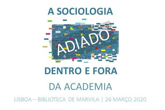Encontro 'A Sociologia dentro e fora da academia'