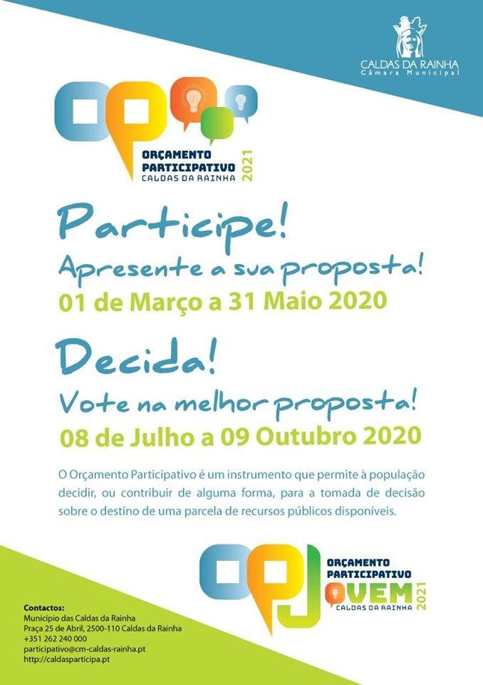ORÇAMENTO PARTICIPATIVO CALDAS DA RAINHA