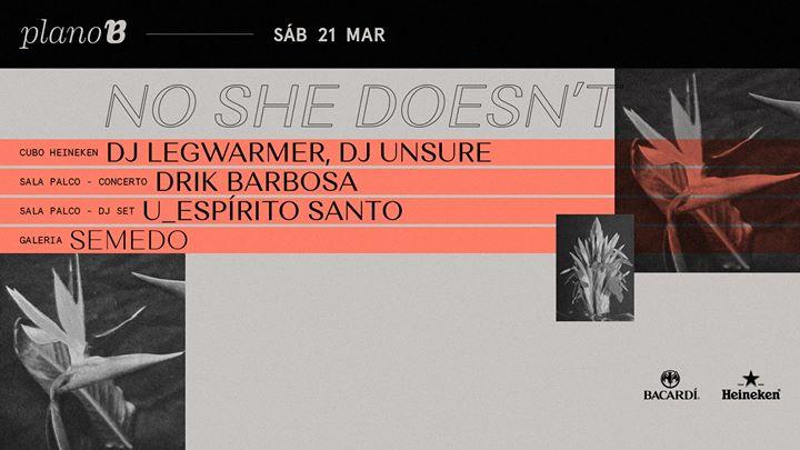 No She Doesn't DJ: DJ Legwarmer, DJ Unsure