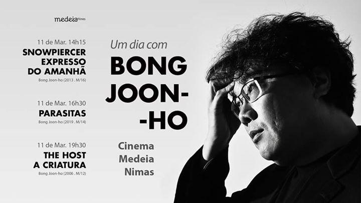 Cinema Coreano: Um Dia com Bong Joon-ho | Espaço Nimas