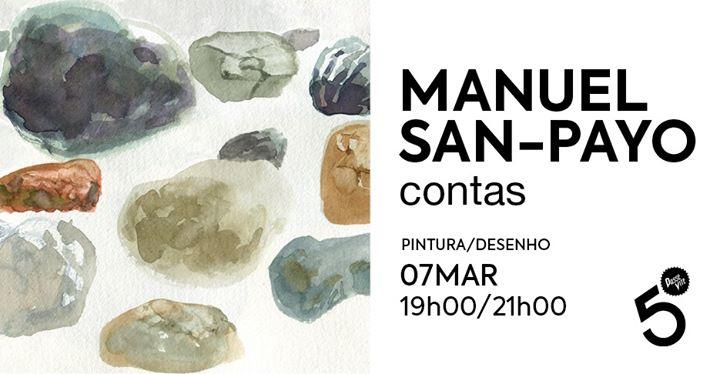 Manuel San-Payo . Pintura/Desenho . Contas