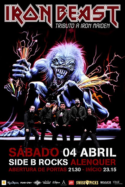 Iron Beast - Tributo a Iron Maiden | Side B Alenquer