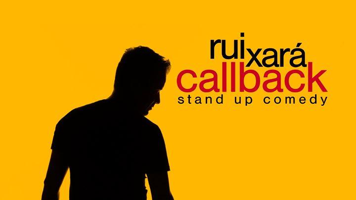 Callback em Coimbra · Rui Xará · Stand-Up Comedy