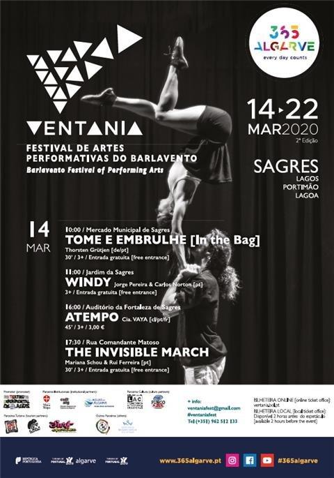 2º edição do Ventania - Festival de Artes Performativas do Barlavento