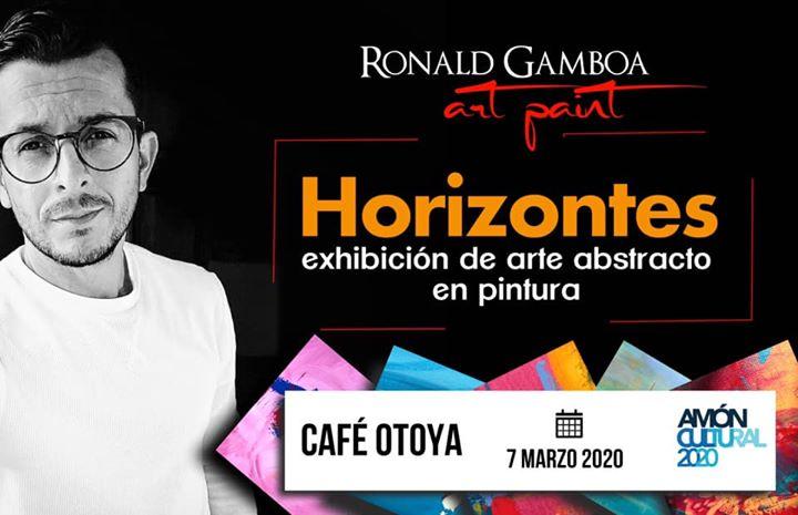 Exhibición de pintura abstracta: Horizontes (Amón Cultural)