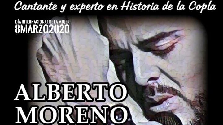 Conferencia cantada 'Mujeres tenían que ser' con Alberto Moreno.