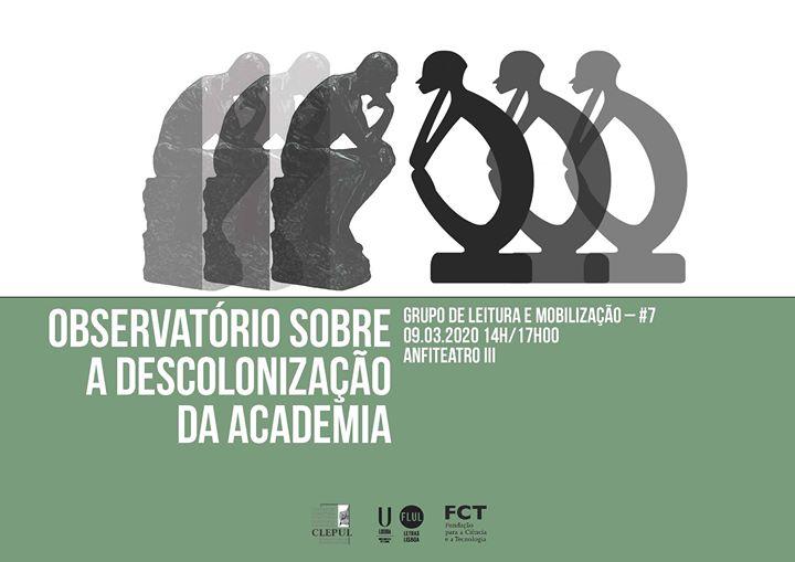 Observatório sobre a Descolonização da Academia #7