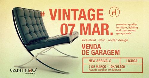 Venda de Garagem Vintage