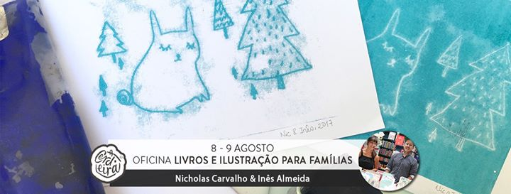 Será um livro? - Oficina de Livros & Ilustração para Famílias